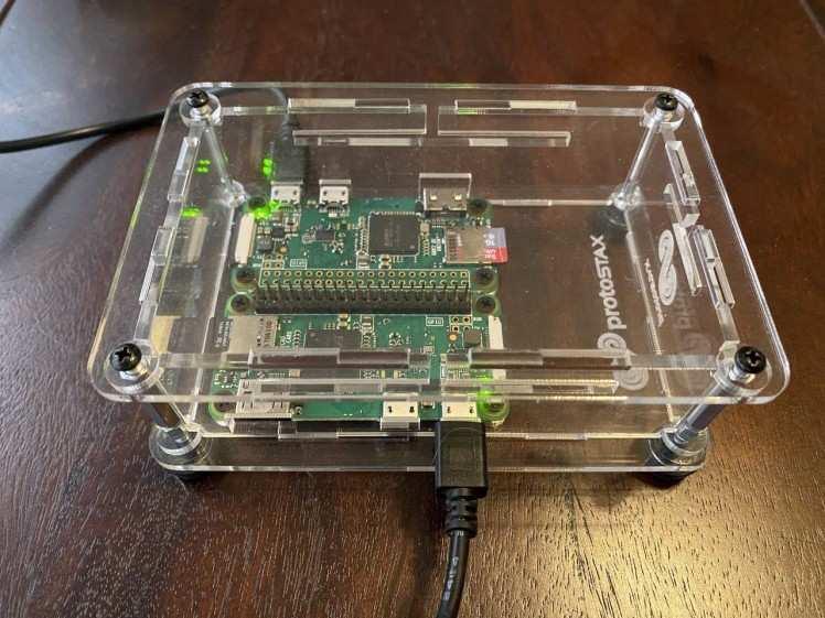 Two-node Pi Zero Cluster with ProtoStax Enclosure for Raspberry Pi Zero