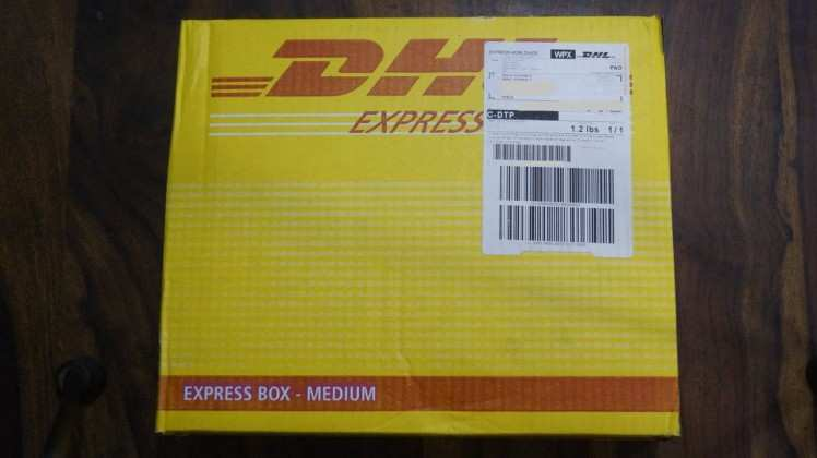 Packed and sealed parcel
