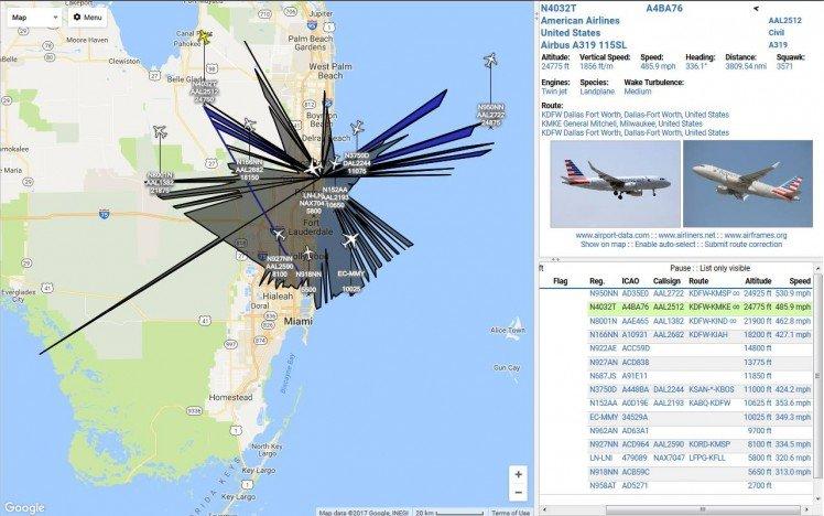 Ads-b Flightaware Aircraft Tracker