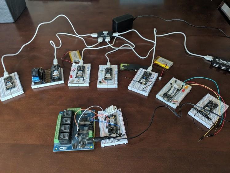 My fleet of devices