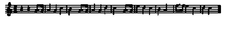 Happy Birthday Musical Score