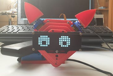 Figure 22. Front view of the companion robot.