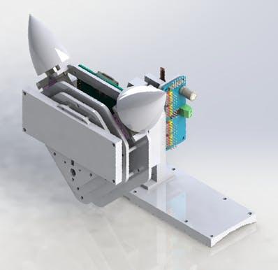 Figure 24. 3D model of the companion robot.