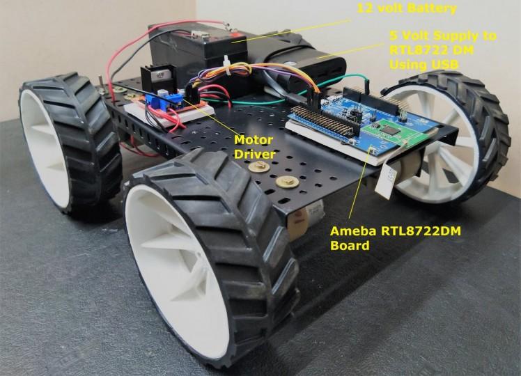 BLE Robot Car