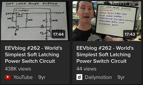 EEVblog #262: https://www.youtube.com/watch?v=Foc9R0dC2iI