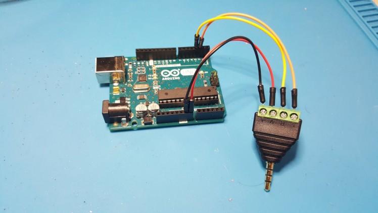 Arduino Uno direct wired