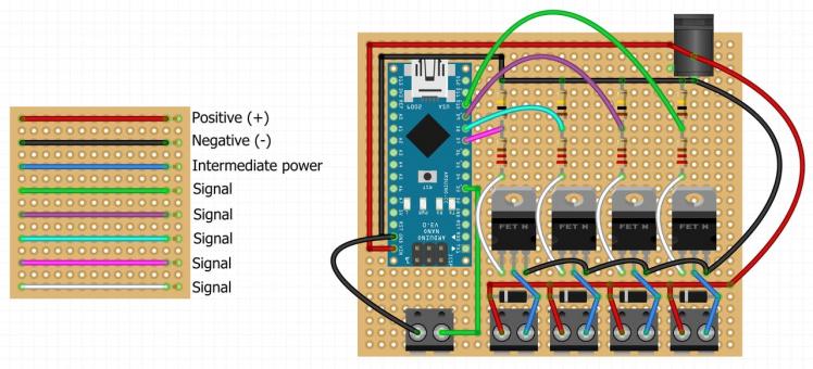 Circuit board wiring