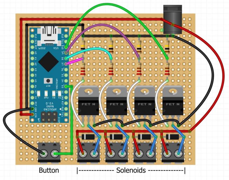Circuit board terminals