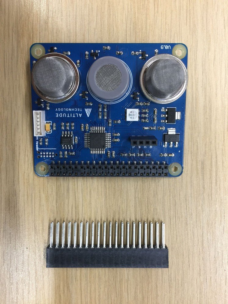 35e5d4d15e61 Sensly Hat For Raspberry Pi Air Quality   Gas Detector V0.9