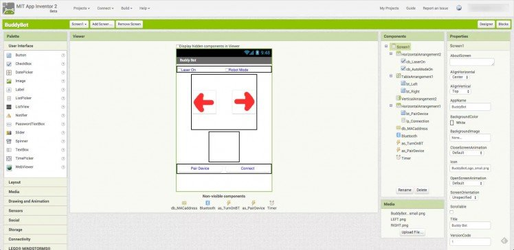 Buddybot: Controlling A Stepper Motor With An Android Smartphone