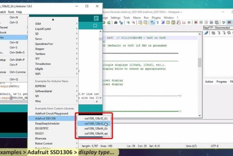 Complete Tutorial On I2c Oled Display Using Arduino/nodemcu