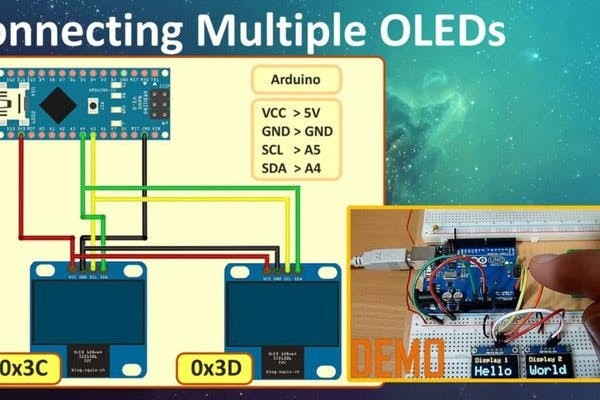 Complete Tutorial On I2c Oled Display Using Arduino/nodemcu