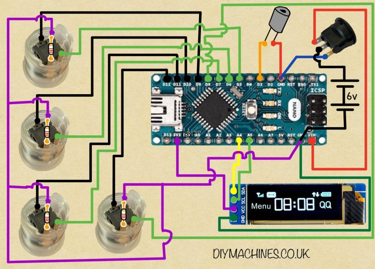 Simon Says Game - 3d Printable   Arduino Nano   Diy Project