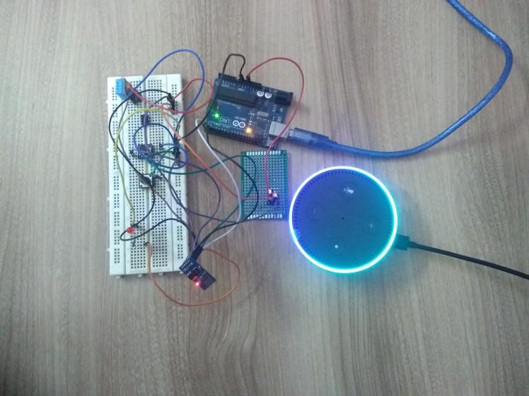 Smart Switch Using Arduino And Alexa