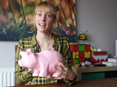 Oink, The Game Controlled By A Pig