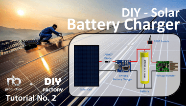 Diy - Solar Battery Charger