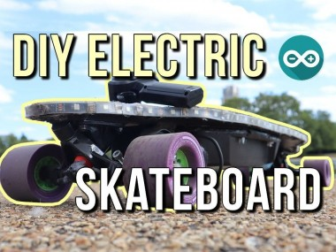 Diy Electric Skateboard – Using Arduino Led's