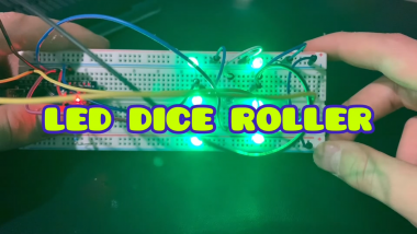 Led Dice Roller With Arduino Nano