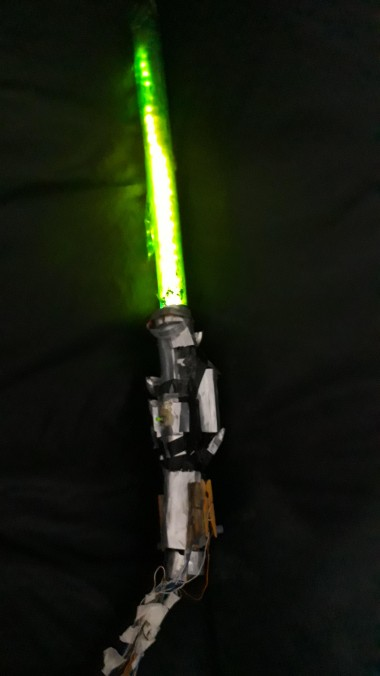 Lightsaber Game Controller With Motion Sensing
