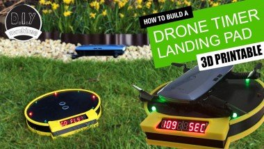 Drone Landing Pad With Arduino Timer