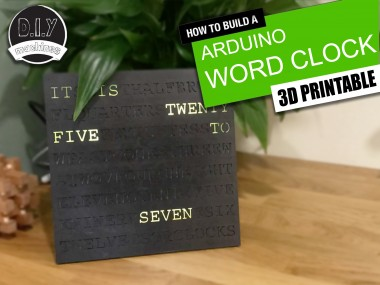 Word Clock - Customisable And Easy To Build