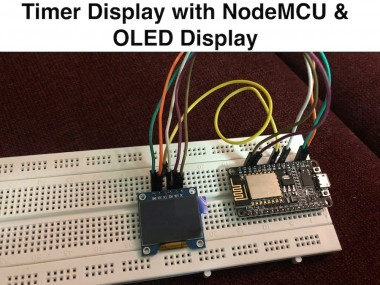 Timer Display With Nodemcu