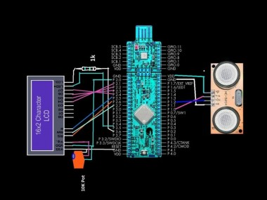 PSoC 4: Measuring Distance with HCSR-04 and CY8CKIT-049 4200