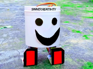 How To Make A Dancing Robot Without Arduino/#smartcreativity