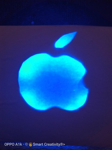 Apple Glowing Logo