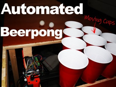 Automated Beerpong Game - Moving Cups!
