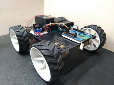 Ble Robot Car Using Realtek Ameba Rtl8722dm (amb21) Board