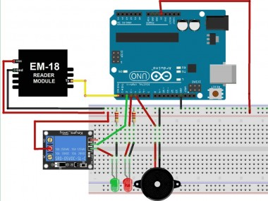 Arduino Rfid Based Door Lock