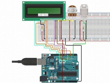 Humidity And Temperature Measurement Using Arduino