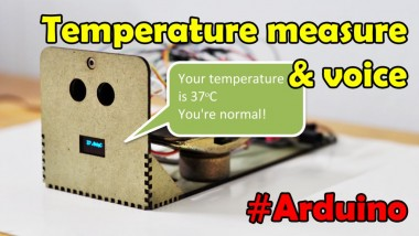 Temperature Measuring Automatic & Voice Inform