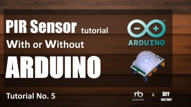 Pir Sensor Tutorial - With Or Without Arduino