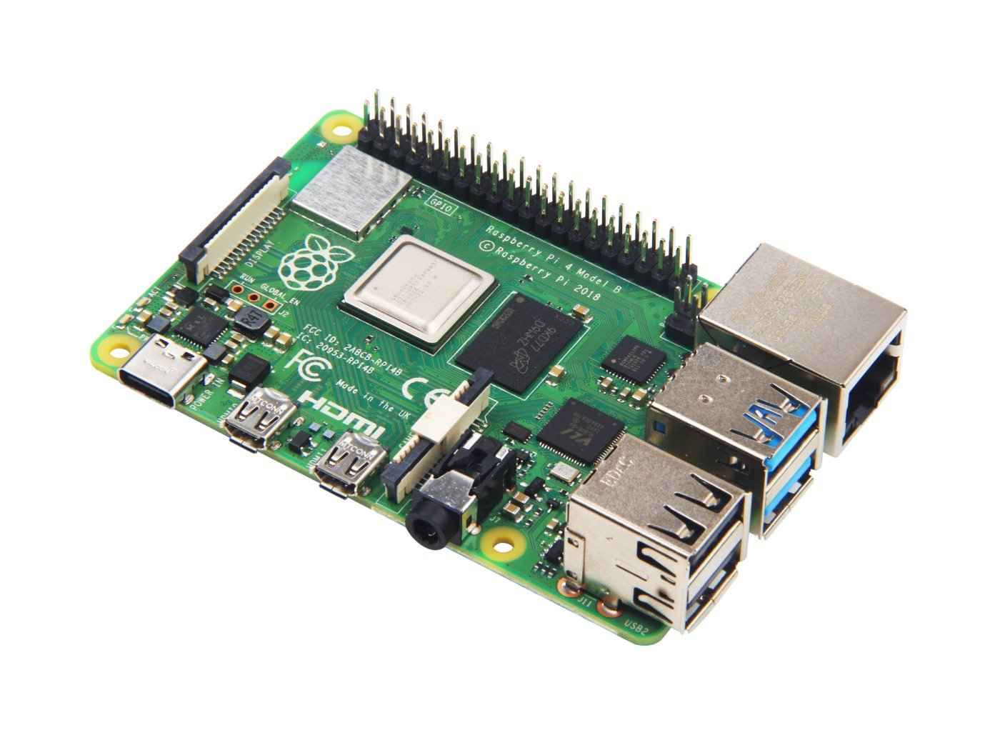 Raspberry Pi 4 Computer Model B 2gb V1.2
